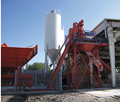Concrete Batching and Mixing Plant Services