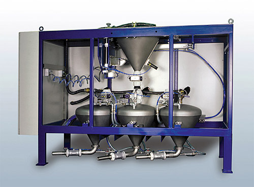 Color Metering System for Concrete Batching