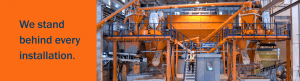 Concrete Mixing and Batching Plant Installation and Service