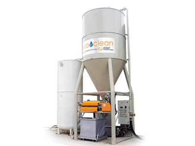 EcoClean Waste Water Treatment for Concrete Plants