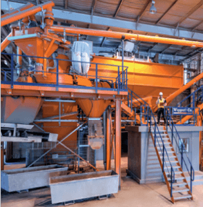 CP&P Jessup new batching plant from ACT