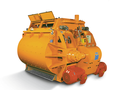 Twin Shaft Concrete Mixers