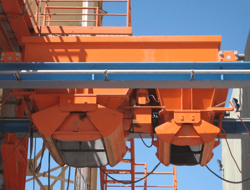 Concrete Delivery Flying Bucket Systems