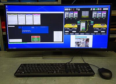 WCS Batch Plant Control PC Station