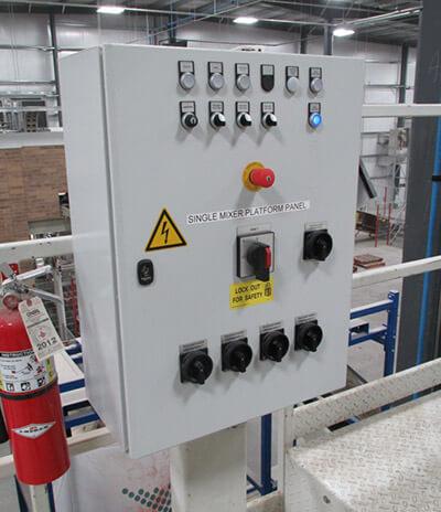 WCS Mixer Platform Panel