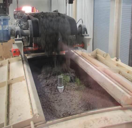 Bay State Precast custom concrete batch plant