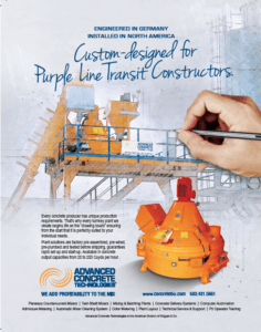 Purple Line Transit Batch Plants